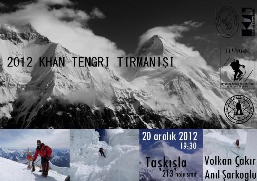 Khan Tengri 2012 İTÜ Sunumu