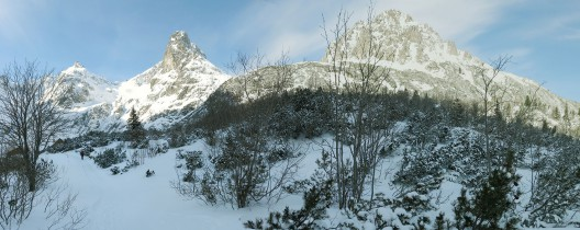 Soldan Sağa; Čierny štít (2434 m) - Jastrzębia Wieża (2137 m) - Kołowy Szczyt (2418 m)